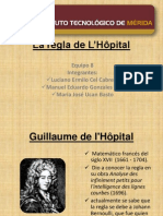 La Regla de L Hôpital[1]