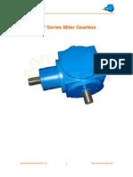 JTP Miter Gearbox Catalogue