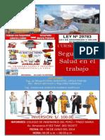 Publicidad Curso de Seguridad y Salud en El Trabajo