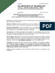 ECE Adhoc Advt. MAy 2014