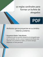 10 reglas cardinales para formar un bufete de.pptx