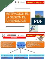 La Motivación en Una Sesión de Aprendizaje