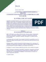 Constitución Política de Ecuador