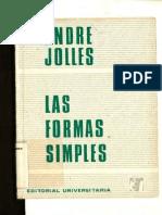 Jolles Andre Las Formas Simples