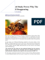 New Harvard Study Proves Why the Bees Are All Disappearing