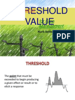 Development of Threshold Values Version 2.1