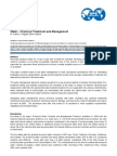 Water - Chemical Treatment and Management
