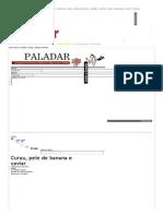Curau, Pele de Banana e Caviar - Paladar - Estadao.com