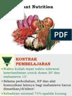 Plant Nutrition-Macro n Micro