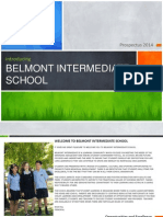 Belmont Intermediate School Prospectus 2014