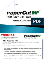PaperCut DSG Training Pres V1!15!10 2010
