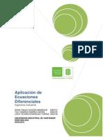 Aplicacion de Ecuaciones Deferenciales (Ingeniería Industrial)