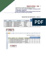 Registro de Deposito