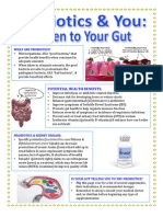 probiotic handout