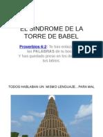 El Sindrome de La Torre de Babel
