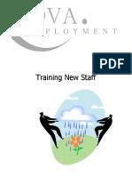 Training New Staff