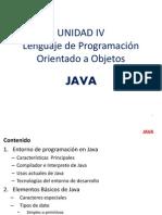 Unidad 4 Lenguaje de Programacion Java Parte 1
