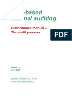 Risk Based Delivery Performance Standards Audit