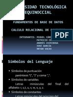 Calculo Relacional de Dominios (1)