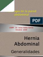 Patologia de Pared Abdominal-HERNIAS