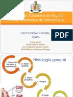 Histologia General. TEJIDOS