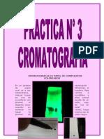 Cromatografia en Papel de Compuestos Coloreados