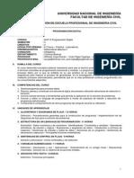 Silabo ABET - Programacion Digital MA713 2013-2