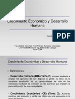 (13) Crecimiento Economico y Desarrollo Humano
