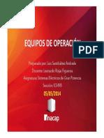 Presentación Equipos de Operación - Luis Santibáñez a.