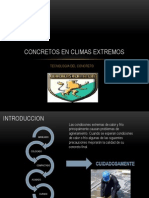 Concretos en Climas Extremos
