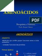 Aminoacidos - Bioquímica Humana