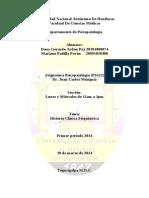 Informe - Historia Clinica