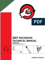 Rockshocks Technical Manual2007