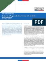 evaluación RescateLector