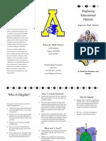 Brochure Dual Enrollment