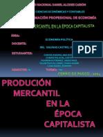 PRODUCCION MERCANTIL