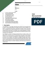 at89c2051 data sheet