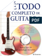 Método Completo de Guitarra-Terry Burrows