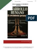 Reseña Libro Desarrollo Humano El Crecimiento Personal