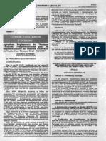 Decreto Supremo 015 2010 MINCETUR