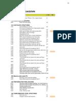 06.1 Work Parcel Breakdown Sample