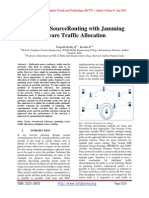 MultipathSourceRouting with Jamming