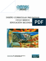 Dcp Secundaria de Mendoza