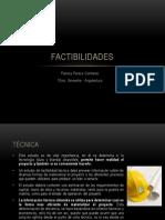Factibilidades. Paloma Peraza