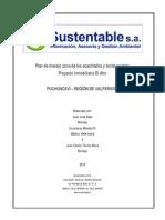 4.1 - Plan de Manejo Zona de Los Acantilados y Borde Costero