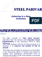 Tata Steel Parivar - CSR activity