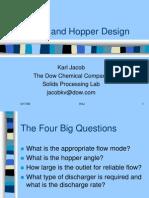 Bin and Hopper Design Lecture