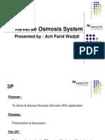 Reverse Osmosis System Farid