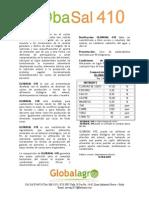 Ficha tecnica GLOBASAL 410