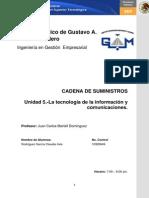 Unidad 5 LA TECNOLOGÍA DE LA INFORMACIÓN Y COMUNICACIONES